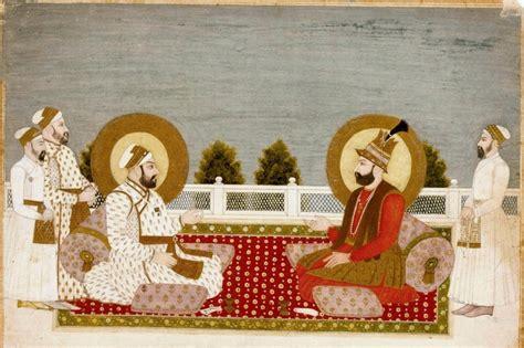 biography of mughal emperor muhammad shah file 7 muhammad shah and nadir shah 1740 musee guimet