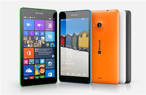 themes for microsoft lumia 535 phone microsoft lumia 535 smartphone in action