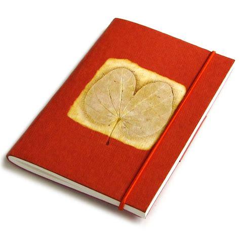 Handmade Notepads - small notebook notepads orange 3x5 40pp handmade paper