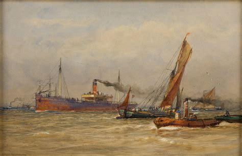 thames river marine forecast arthur wilde parsons rwa richard gardner antiques