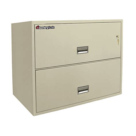 Sentry Safe Drawer by Sentry Safe 2 Drawer Lateral File With Key Lock