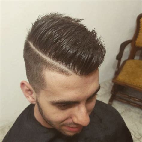 shaved parting 40 ritzy shaved sides hairstyles and haircuts for men