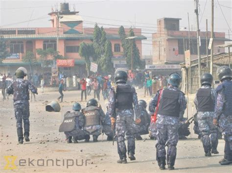 Ktm Post Protester Killed In Firing In Gaur National The