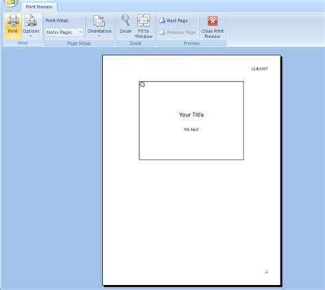 microsoft powerpoint tutorial notes to print speaker notes notes 171 slides 171 microsoft office