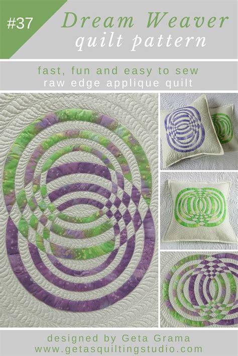 quilting applique patterns geometric applique quilt pillow pattern