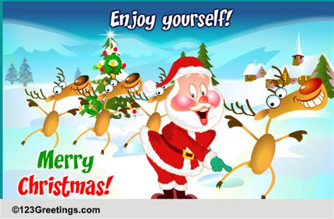 christmas party free humor pranks ecards greeting santa his star bucks free humor pranks ecards 123