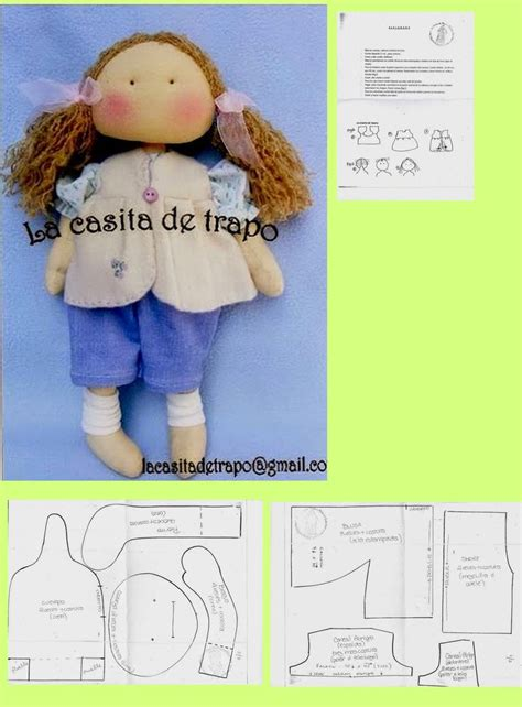 rag doll meme 3753 best patterns for fabric dolls bears and more