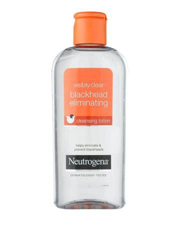 Neutrogena Rapid Clear Blackhead Eliminating Daily Scru Berkualitas visibly clear 174 blackhead eliminating cleansing lotion neutrogena 174