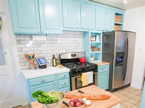 blue painted kitchen cabinets understanding more about laminate kitchen cabinets my