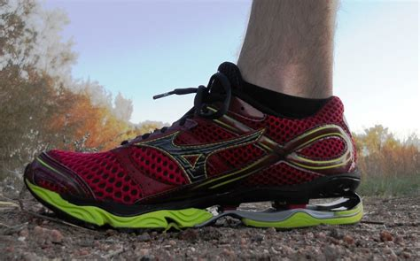 mizuno wave creation  running shoes review running