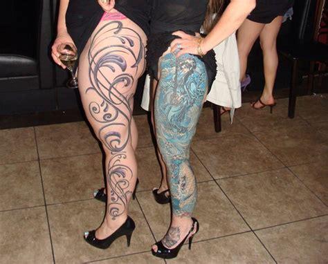 leg sleeve tattoo girl 17 amazing leg sleeve tattoos for females sheideas