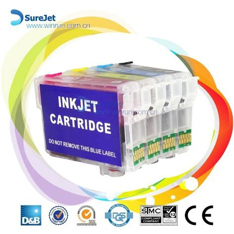 Reset Epson 220 Cartridge | t2201 t220 refill ink cartridge for epson wf2630 2650 2660