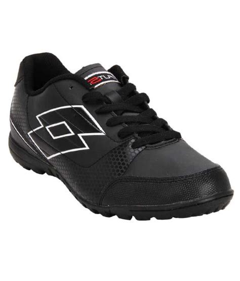 lotto football shoes price lotto vincente tf black football shoes price in india buy