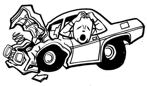 wrecked car clipart car wreck clipart