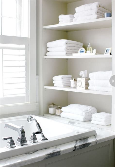 Bathtub Shelves 15 Exquisite Bathrooms That Make Use Of Open Storage