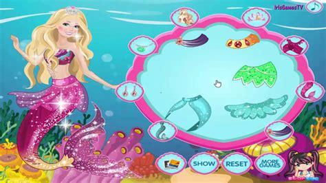 barbie mermaid dress up games barbie in mermaid tale 2 dress up game for girls by