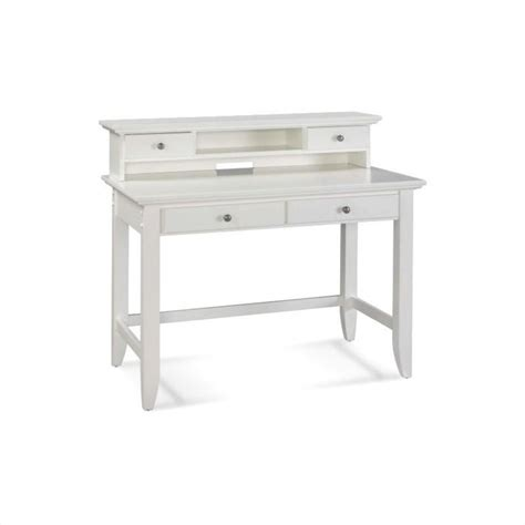 Student Desk And Hutch Set In White Finish 5530 162 White Student Desks