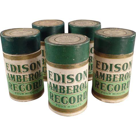wax cylinder old wax cylinder phonograph records edison amberol