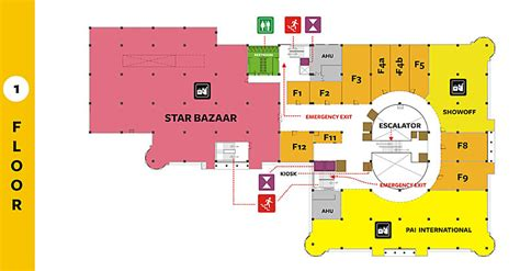 shopping mall floor plan gopalan arcade mall bangalore malls top 10 mall in