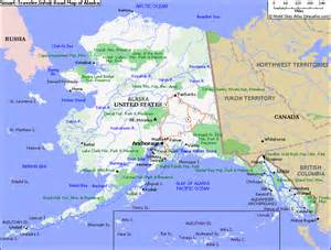 where is alaska on the map of the united states map of alaska map pictures