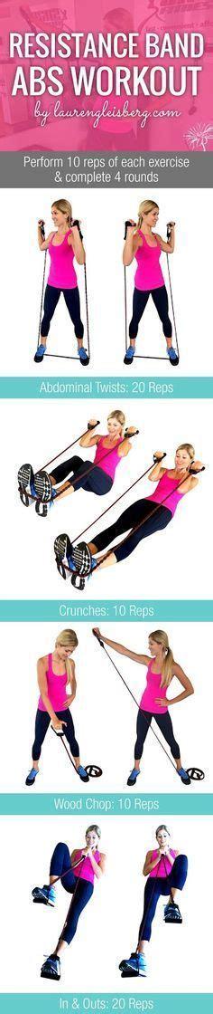 images  resistance band workout  pinterest