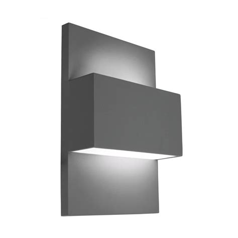 Norlys Geneve E27 40w Outdoor Up Down Wall Light In Outside Lights Uk