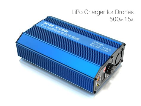 lipo charger with storage mode skyrc 100 240v ac 6 8s 1 15a 500w lipo charger for drones