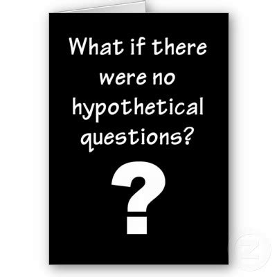 hypothetical questions related keywords suggestions