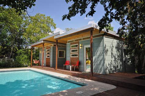 prefab backyard guest house customer gallery double 14x14 modern studios w breezway