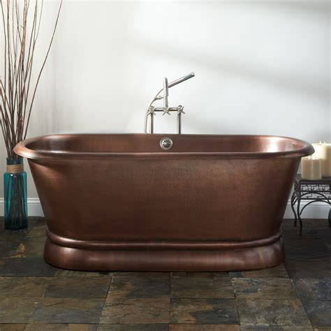 copper bathtubs copper tubs freestanding and clawfoot copper bathtubs