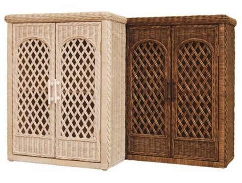 outdoor wicker tv cabinet trellis wicker wall cabinet