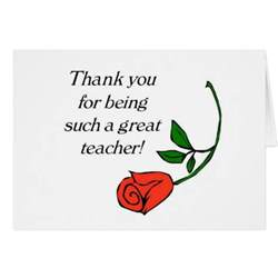 thank you card zazzle