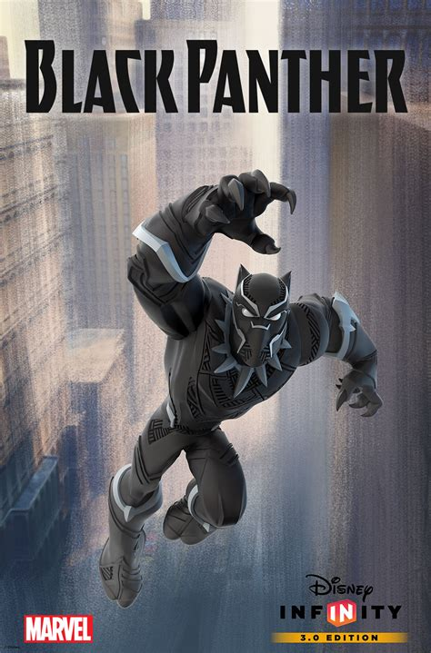 marvel s black panther the junior novel books black panther leaps onto disney infinity 3 0 variant cover