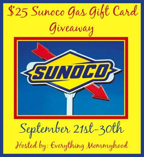 Free Gas Giveaway - 25 sunoco gas card giveaway it s free at last