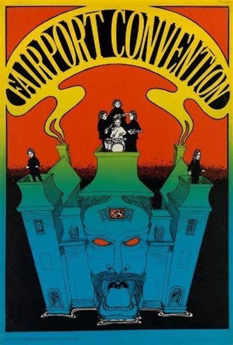 convention poster fairport convention greg irons osiris 1967 silkscreen poster posters poster
