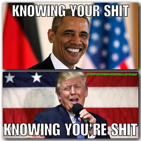 Trump 2018 Memes - 25 hilarious memes proving trump will never measure up to obama the political punchline