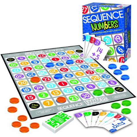 Sequence Number On Gift Card - sequence numbers board games