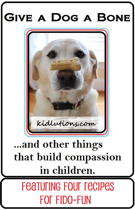 Give A A Bone by Give A A Bone Compassion And Children