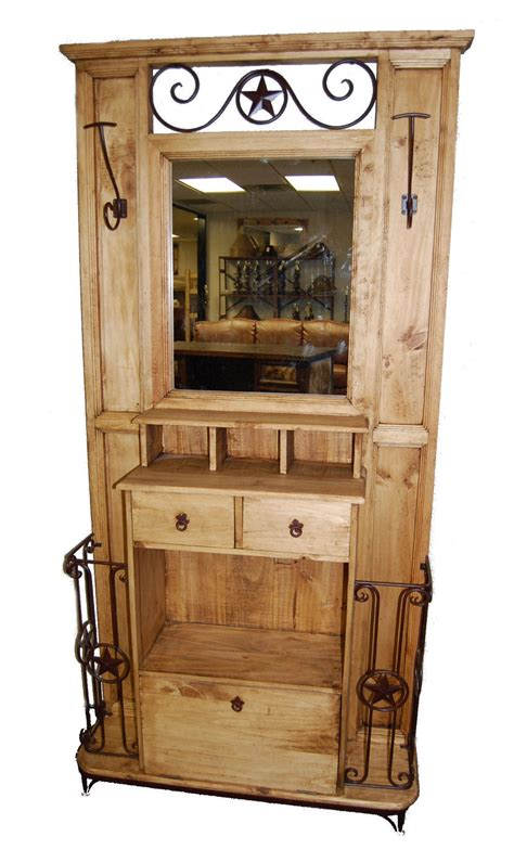 hall tree hall tree w mirror great western furniture company