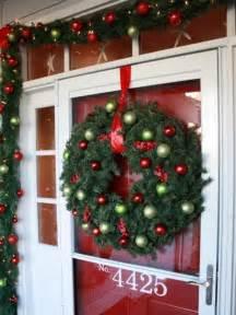 Christmas Front Door Decorating Ideas Christmas Door Decorations Interior Design Styles And