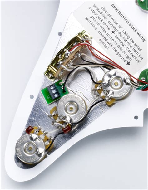 injector strat 174 replacement pickguard dimarzio