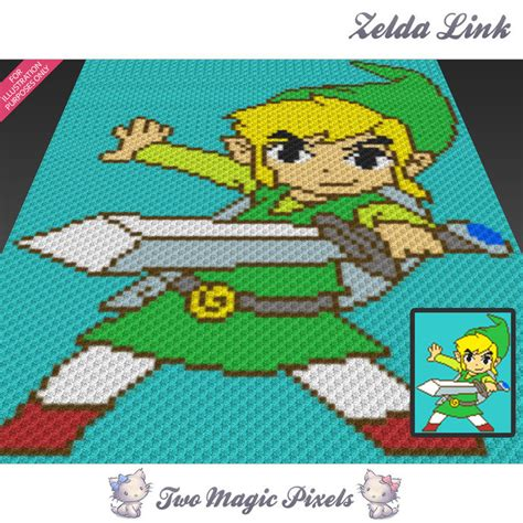 knitting pattern for zelda zelda link inspired crochet blanket twomagicpixels