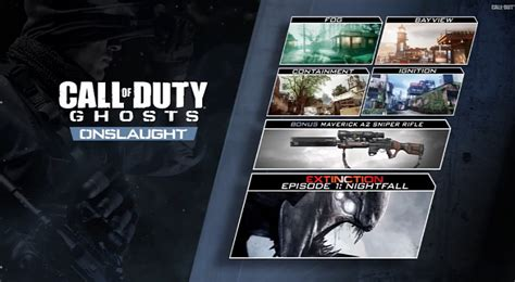 Kaos Gamers Call Of Duty Ghost call of duty ghosts onslaught dlc maverick weapon gets