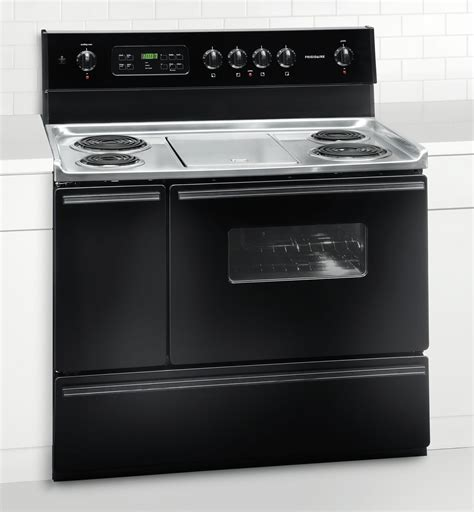 40 inch electric range new frigidaire black 40 quot freestanding electric 40 inch
