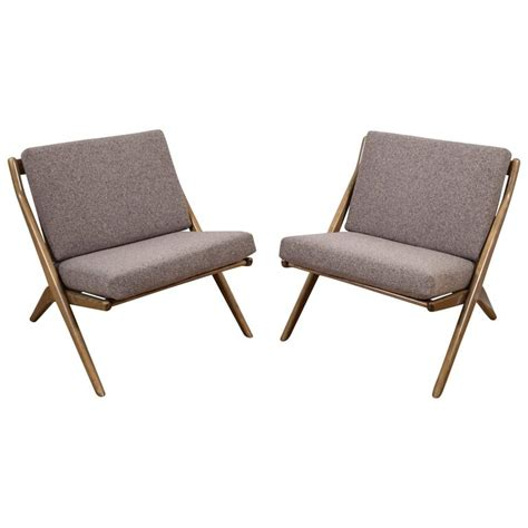 lounge chairs on sale pair of folke ohlsson for dux scissor lounge chairs