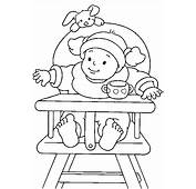 Chair Baby Coloring Pages Free Printable
