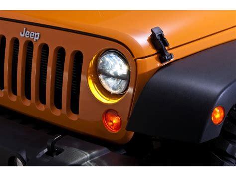 Truck Lite Jeep Jk Truck Lite Led Headlight Kit For 07 16 Jeep 174 Wrangler