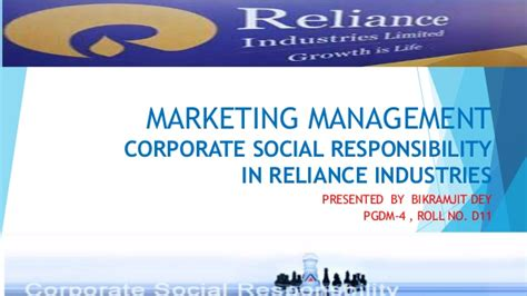 Corporate Social Responsibility Mba Project Report by Corporate Social Responsibility