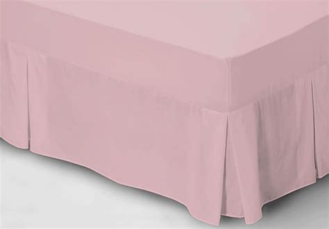 Single Fitted Valance Sheet belledorm 150 count easy care fitted valance sheet single king size ebay