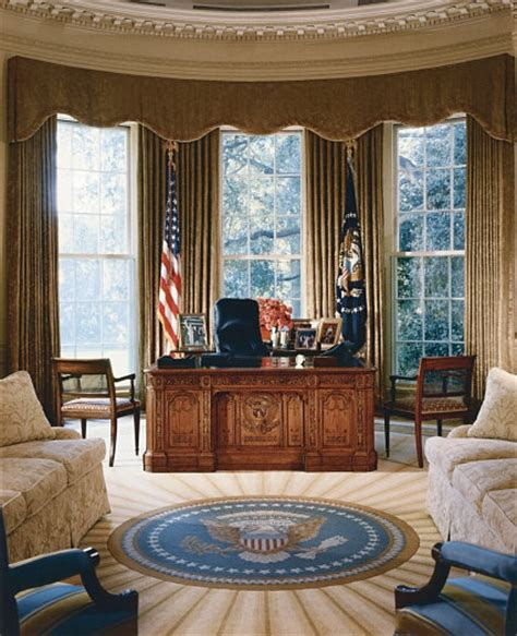 white house drapes oval office history white house museum